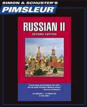 Pimsleur Language Program Russian II (Second Edition) - Best Way to Learn Russian
