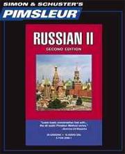 Pimsleur Language Program Russian II (Second Edition)